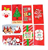 32 Christmas Money Checks & Gift Card Holders With Envelopes - Assorted Holiday Designs with Foil and Glitter: more info