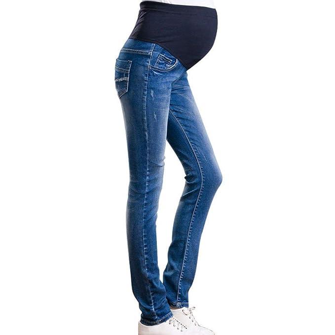 Pantalones De Maternidad para Mujer Pantalones Vaqueros ...