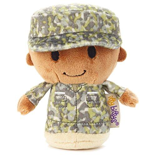 Hallmark Itty Bitty Green Military Camo African-American Boy (Itty Bear Bitty)