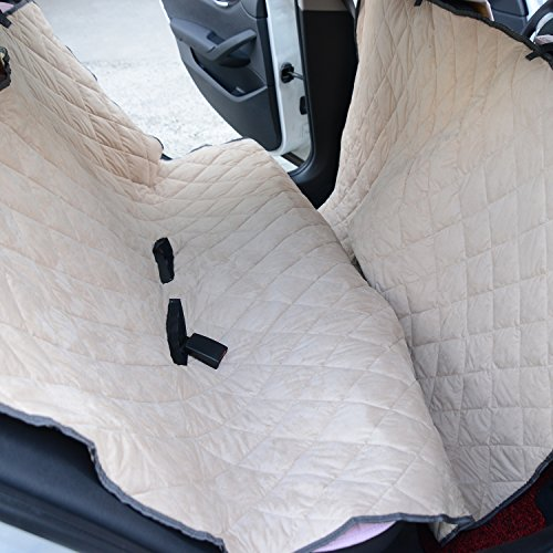 PawHut Quilted Bench Seat Cover