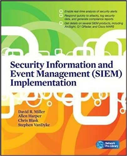 Security information and event management siem implementation security information and event management siem implementation network pro library david r miller shon harris allen harper stephen vandyke fandeluxe Choice Image