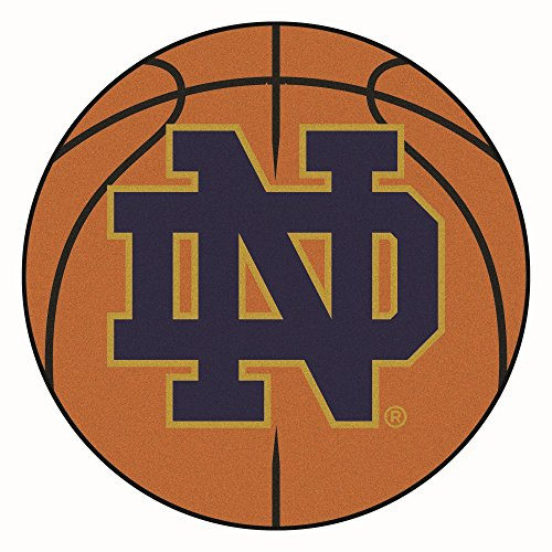 Fighting Irish Basketball Rug (University of Notre Dame Basketball Area Rug)