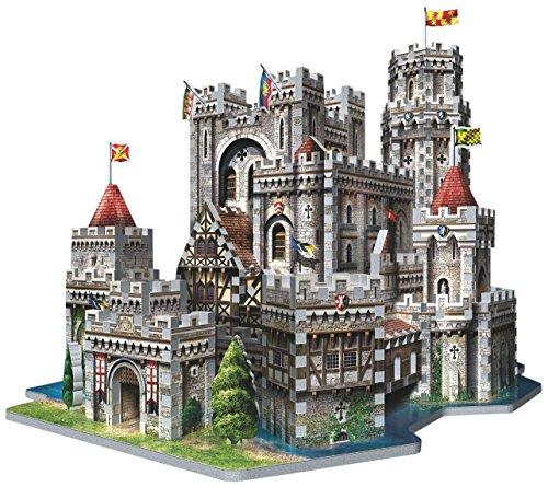 Wrebbit Puzz 3d Puzzle - Wrebbit 3D King Arthur's Camelot 3D Puzzle (865-Piece)