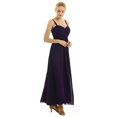 iiniim Vestido Largo Tirantes Mujer para Noche Fiesta Vestido de ...