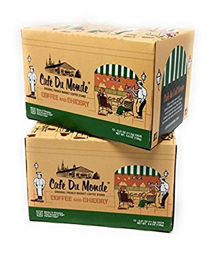 Cafe du Monde Coffee and Chicory 24 Single Serve K-Cup Pods