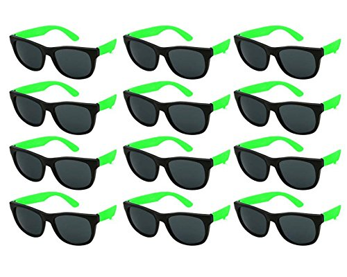 Edge I-Wear 12 Pack KID Party Neon Sunglasses CPSIA Certified Lead (Pb) Content Free UV Protection (Made in Taiwan) 9402R/GN-12 for $<!--$9.99-->