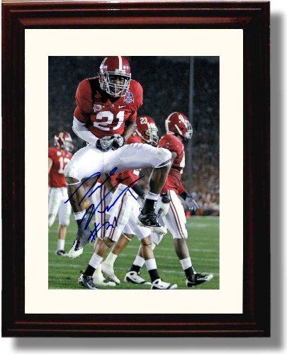 Framed Alabama Football 2011 Dre Kirkpatrick Autograph Photo (Framed Autograph)