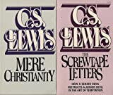 download ebook set of 2 c.s. lewis novels: mere christianity and the screwtape letters: how a senior devil instructs a junior devil in the art of temptation pdf epub