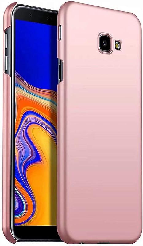 NiaCoCo Compatible con Funda Samsung Galaxy J4 Plus Silicona para PC A Prueba de choques Ultra Delgado Anti-rasguños Estuche Protector para Samsung Galaxy J4 Plus-Oro Rosa: Amazon.es: Electrónica