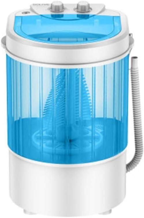 LAZNG Lavadora portátil de lavar los zapatos limpiadores desodorizantes máquina de esterilización del lavado de calzado portátil, limpiador ultrasónico for lavar los zapatos (Color : Azul)