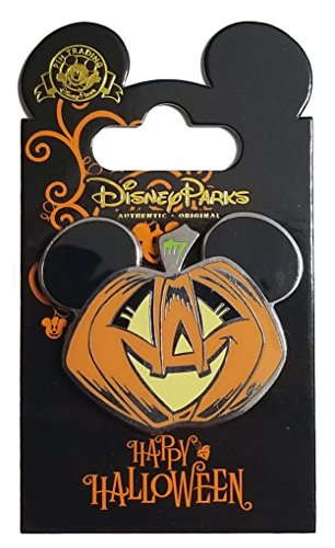 Disney Pin - Happy Halloween Mickey Mouse (Halloween Pumpkins Disney)
