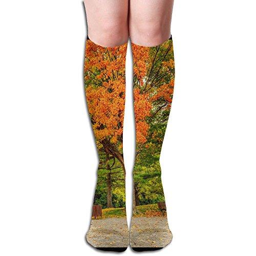 ZHONGJIAN Unisex Knee High Long Socks Autumn In Ottawa Soccer Tube Sock Length - Hat Store Ottawa