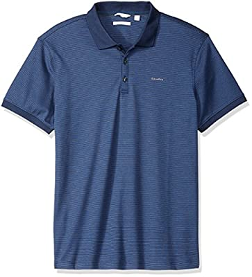 Calvin Klein Men's Short Sleeve Cotton Polo