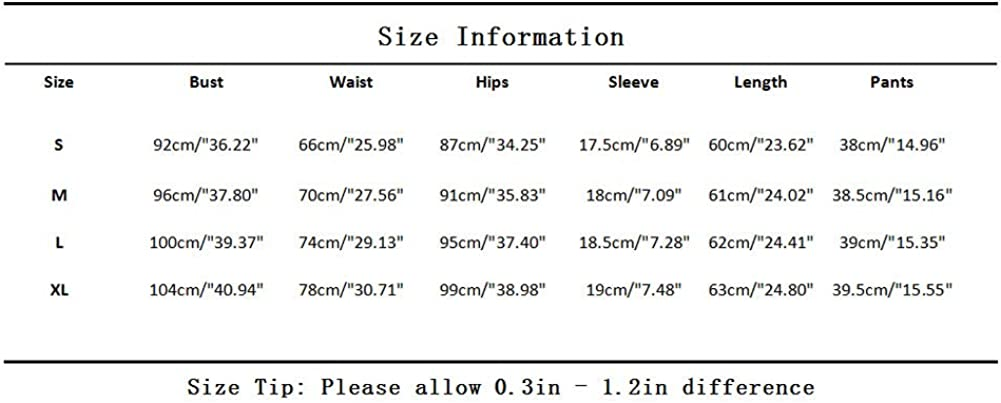 Halfword Women Casual 2 Piece Outfit Short Sleeve Cartoon Print T-Shirts Bodycon Shorts Set Jumpsuit Rompers