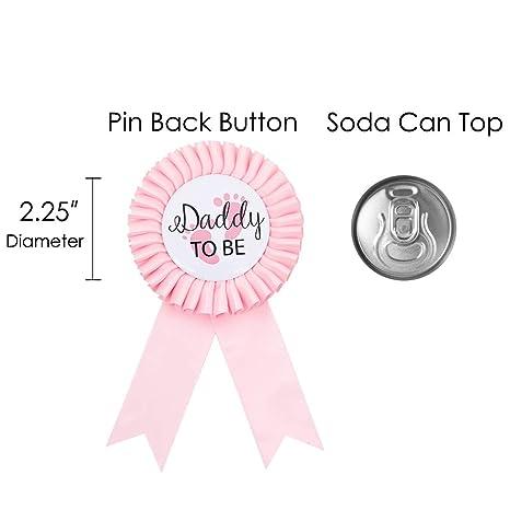 Amazon.com: Kit de tiara con broche de botón