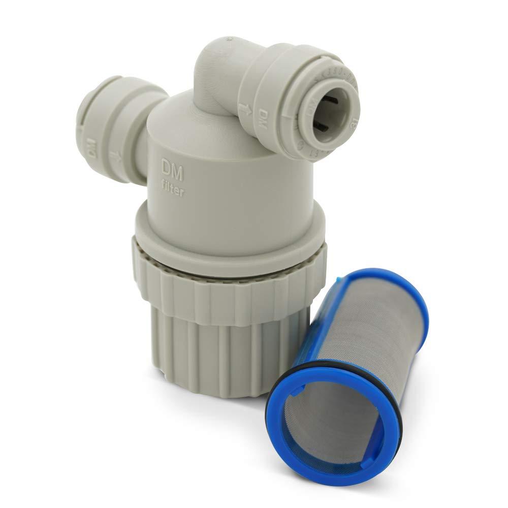 Alum Mesh Filter 1//4In Dx10-1//8Hx47-3//4W