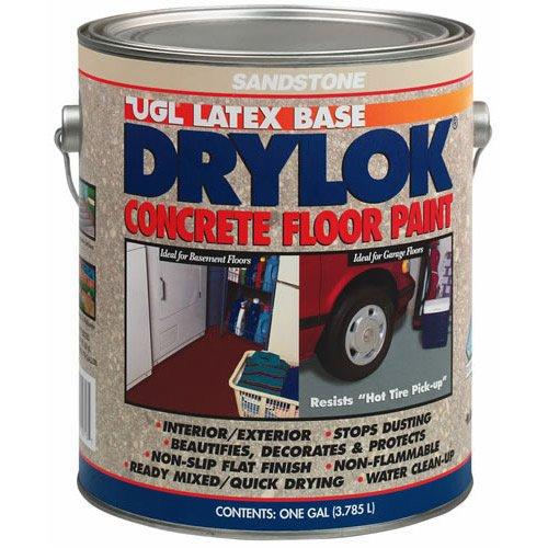 DRYLOK Concrete Floor Paint, 1 Gallon, Sandstone - House
