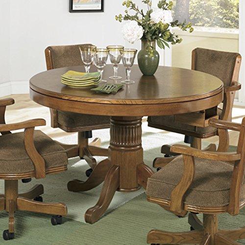 Coaster Home Furnishings 100873 Casual Game Table, Oak