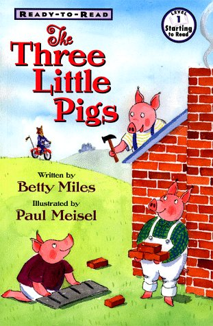 Amazoncom The Three Little Pigs Ready To Read 9780689817892