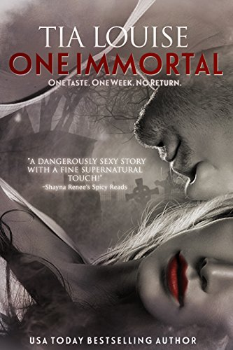 One immortal a vampire romance kindle edition by tia louise one immortal a vampire romance by louise tia fandeluxe Choice Image