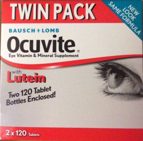 Bausch+Lomb Ocuvite Eye Vitamin & Mineral Supplement Twin Pack (2x120) Tablets