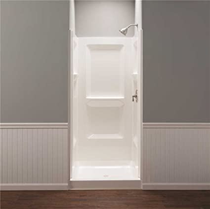 Amazon.com: Mustee 736WHT White Durawall Shower Wall: Electronics