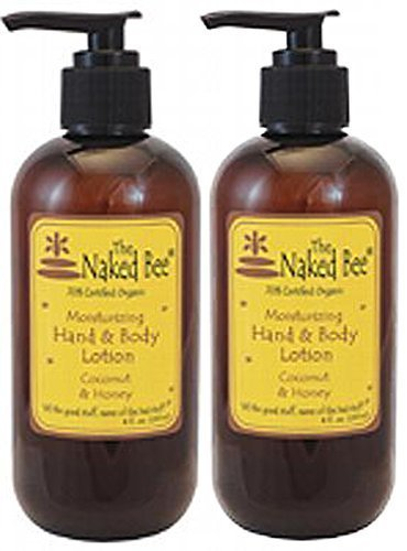- Naked Bee Coconut Honey Hand and Body Lotion 8 oz (Pack of 2)