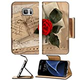 This flip Pu Leather wallet case is only designed and made for Samsung Galaxy S7. This case uses High Quality Pu Leather cover along with an inner durable plastic hard shell to keep your device safe and protected in style. This design allows ...