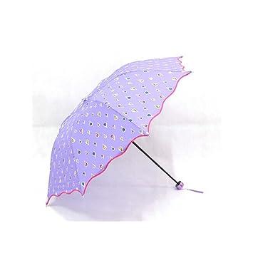 Desconocido Paraguas de Moda Que Cambia de Color y se Activa con ...