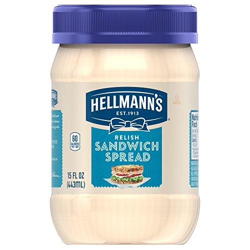 Hellmann's Sandwich Spread, Relish, 15 oz