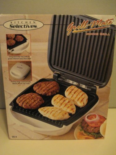 Kitchen Selectives Grill-mate Indoor Grill