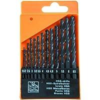 KIPPEN 1071 Set met 13 stuks boorbits van staal, meerkleurig
