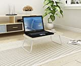 "Home-Like Folding Laptop Table Bed Desk Standing Desk Breakfast Bed Tray Portable Table Stand Serving Tray Reading Holder Notebook Stand Camping Table 23.62""W x 15.74"" D x 9.64""H (008, White)"