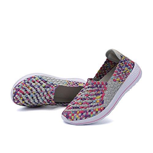 Da Estive A Sneakers Sneakers In Gray Maglia Donna RDJM Basse 40 Running Casual Sneakers Basse Taglia 35 Maglia Da qPwfSqWnO