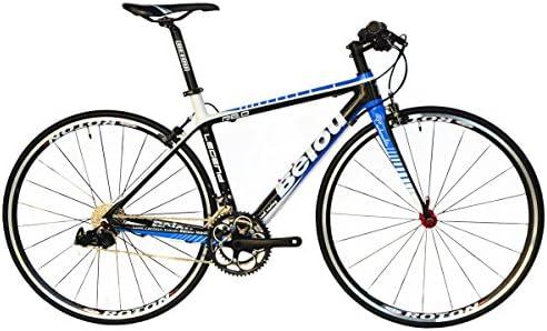 BEIOU ® 2016 Carbon cómodas bicicletas 700C bici del camino LTWOO ...