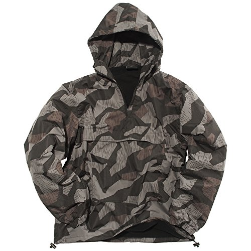 Mil-Tec Night Splinter Camo Winter Combat Anorak - Small