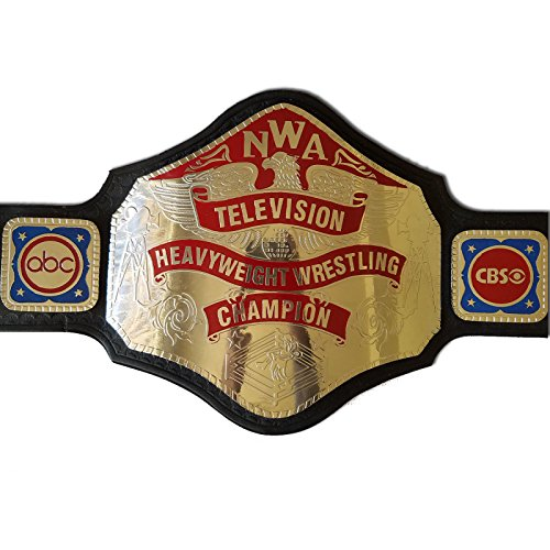 Black Friday Sale: $50 Off NWA TV Television Championship Replica belt (Black, - Off Black Friday 50