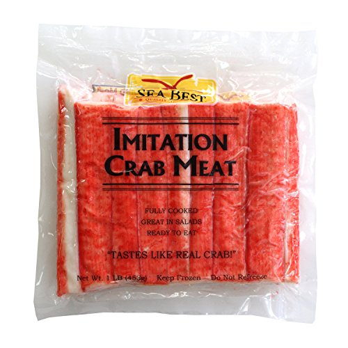 Sea Best Imitation Crabmeat Sticks, 16 Ounce (Pack of 30)