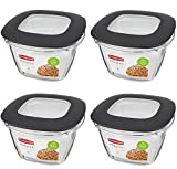 7 cup plastic container - Rubbermaid Premier Food Storage Container (Gray, 7 Cup)