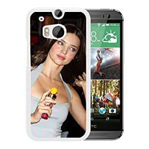 New Custom Designed Cover Case For HTC ONE M8 With Miranda Kerr Girl Mobile Wallpaper(89).jpg