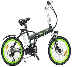 big cat electric bikes hampton folding bike. Black Bedroom Furniture Sets. Home Design Ideas