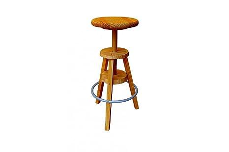 Abc meubles sgabello bar s miele amazon casa e cucina