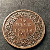 Arunrajsofia British India 1/2 Pice George V Coin