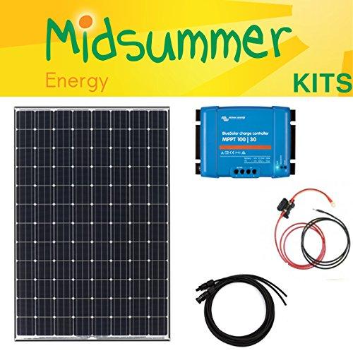 325 W Panasonic 12 V/24 V Solar Panel Kit - para caravanas, Motor ...
