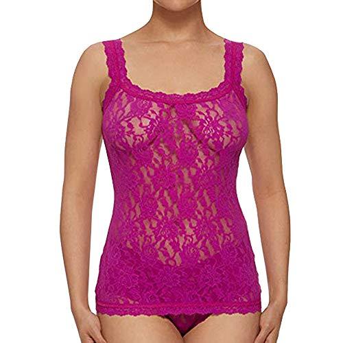 (Hanky Panky Signature Lace Classic Camisole, Woman Lingerie, 1390LP XL, Belle Pink)