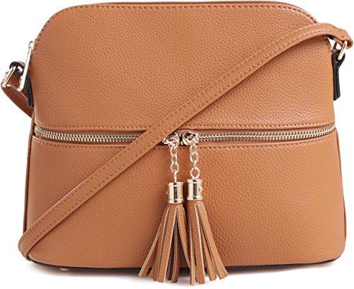 Cognac Crossbody Bags - 2