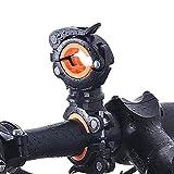 ZHIXIE Universal 360-degree Rotating Bike Bicycle Handlebar Mount LED Flashlight Torch Mount Clamp Clip Holder Grip Bracket