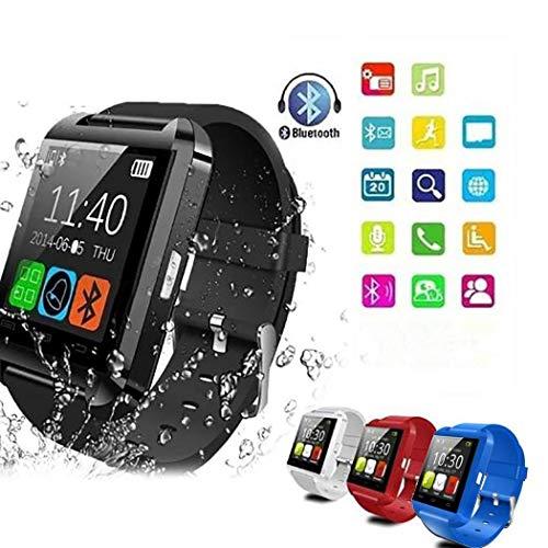 begorey Bluetooth Smartwatch Fitness Uhr Intelligente Armbanduhr Fitness Tracker Smart Watch Sport Uhr mit Schrittzähler…