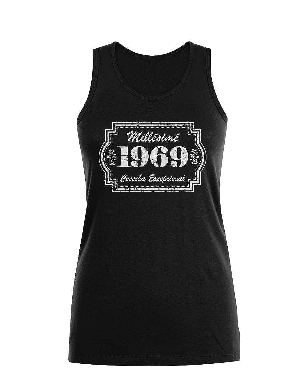 Camiseta sin Mangas para Mujer - 1969 Cosecha Excepcional ...