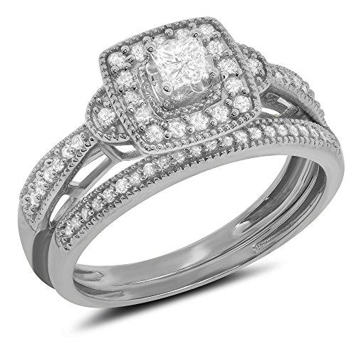 0.45 Ct Princess Diamond - 1
